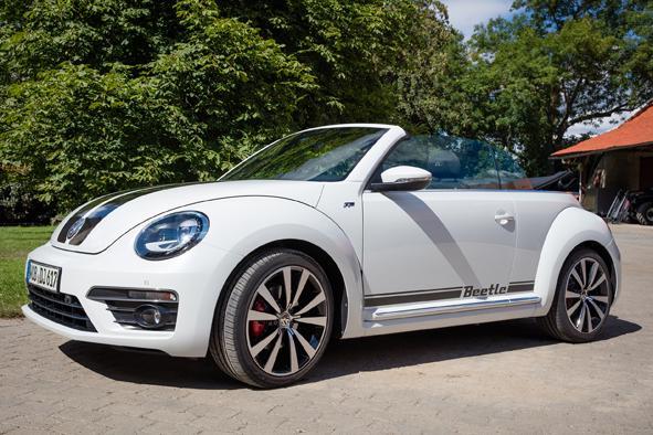 vw beetle cabrio r autopraxistest. Black Bedroom Furniture Sets. Home Design Ideas